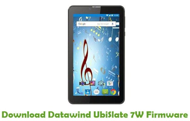 Download Datawind UbiSlate 7W Firmware