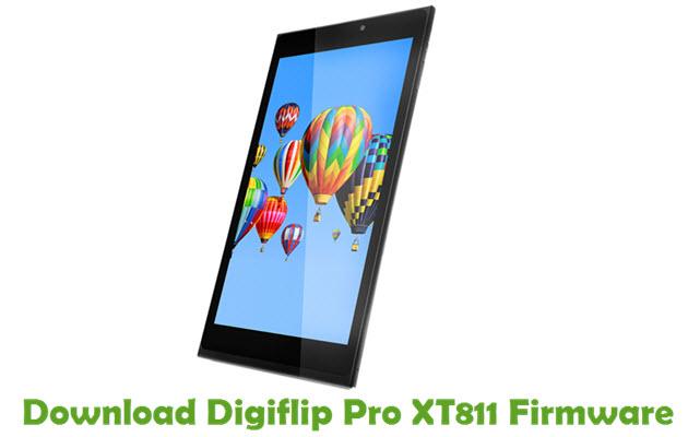 Download Digiflip Pro XT811 Firmware