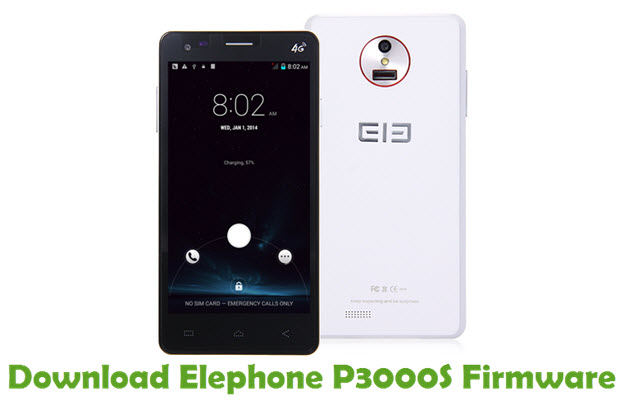 Download Elephone P3000S Firmware