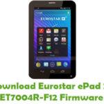 Eurostar ePad 2+ ET7004R-F12 Firmware