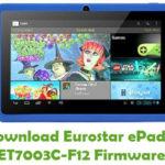 Eurostar ePad 4 ET7003C-F12 Firmware