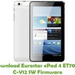 Eurostar ePad 4 ET7005C-V12 SW Firmware