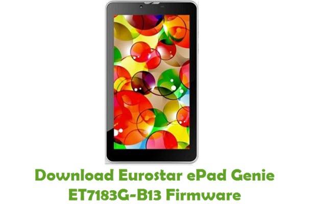 Download Eurostar ePad Genie ET7183G-B13 Firmware