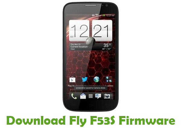 Download Fly F53S Firmware