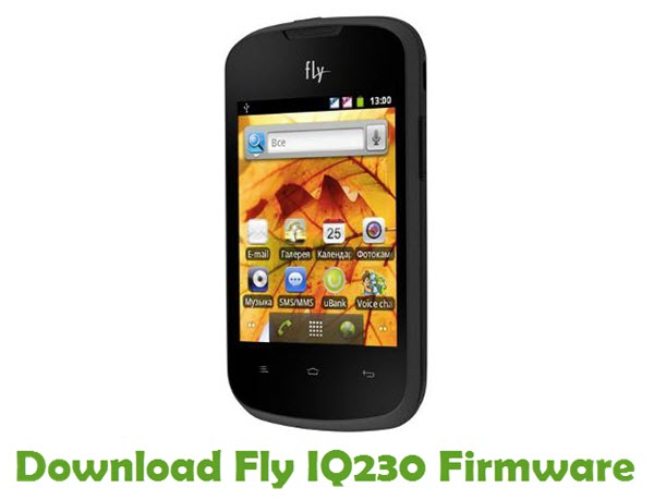 Download Fly IQ230 Firmware