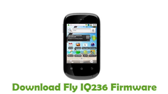 Download Fly IQ236 Firmware