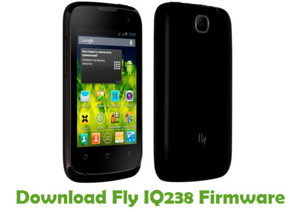 Download Fly IQ238 Firmware