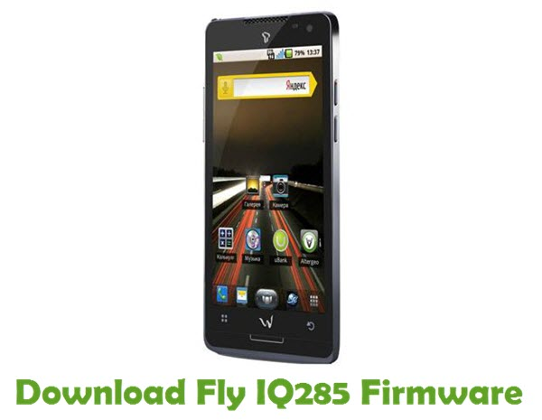 Download Fly IQ285 Firmware