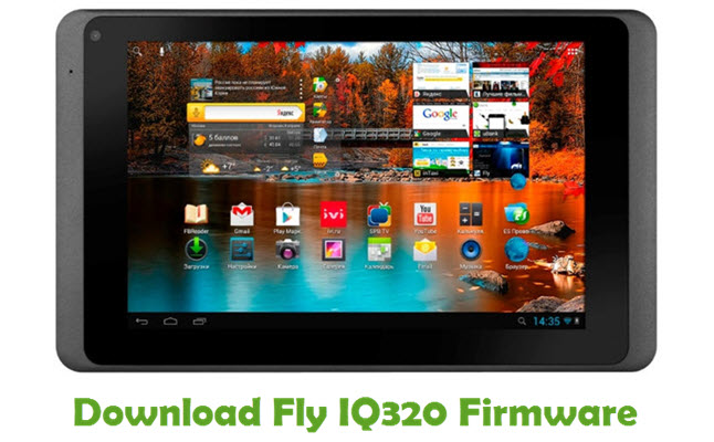 Download Fly IQ320 Firmware