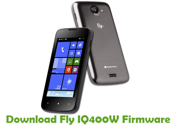 Download Fly IQ400W Firmware