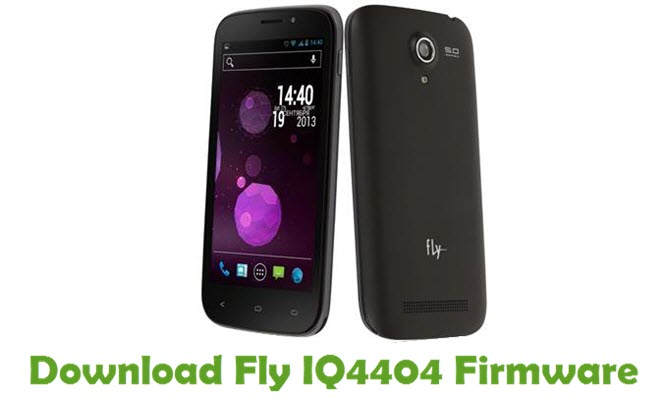 Download Fly IQ4404 Firmware