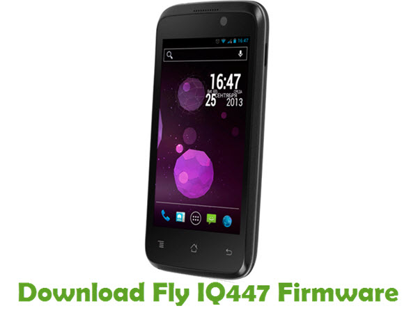 Download Fly IQ447 Stock ROM