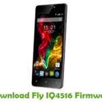 Fly IQ4516 Firmware