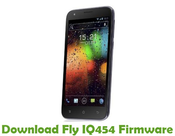 Download Fly IQ454 Stock ROM