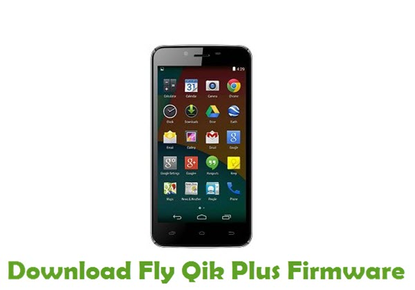 Download Fly Qik Plus Firmware