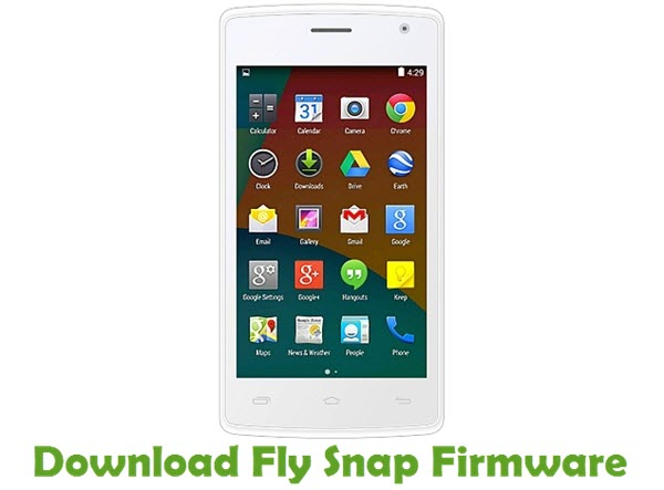 Download Fly Snap Stock ROM
