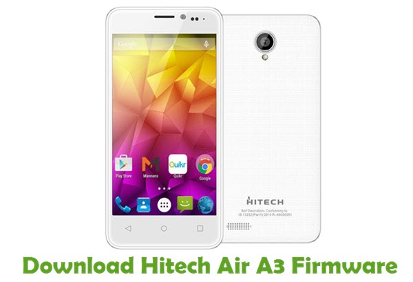 Download Hitech Air A3 Stock ROM