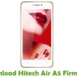 Hitech Air A5 Firmware