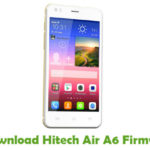 Hitech Air A6 Firmware
