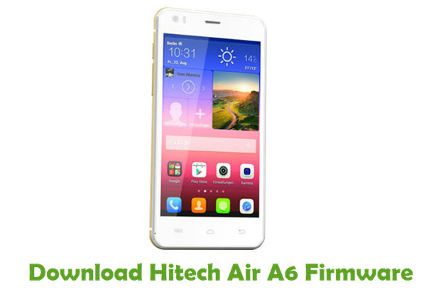 Download Hitech Air A6 Stock ROM