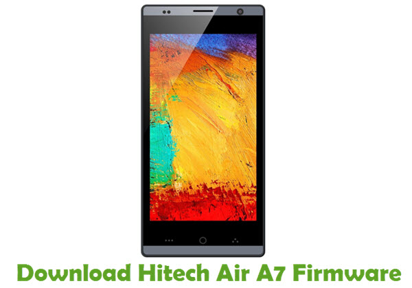 Download Hitech Air A7 Firmware
