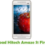 Hitech Amaze S1 Firmware
