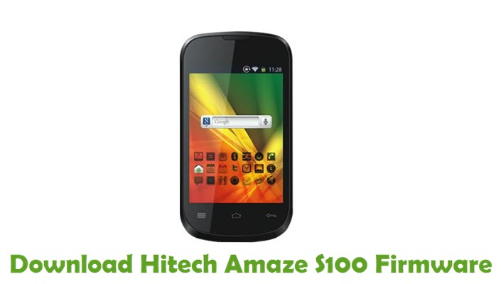 Download Hitech Amaze S100 Firmware