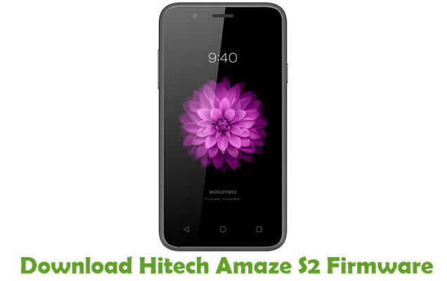 Download Hitech Amaze S2 Firmware