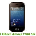 Hitech Amaze S200 3G Firmware