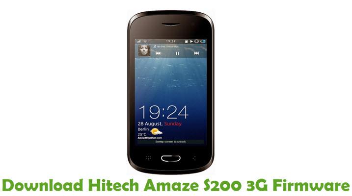 Download Hitech Amaze S200 3G Firmware