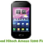 Hitech Amaze S200 Firmware