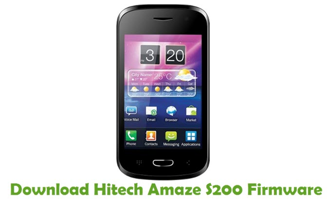 Download Hitech Amaze S200 Firmware