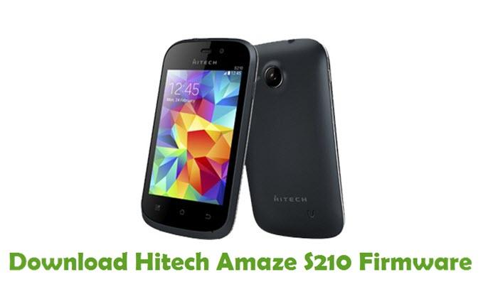 Download Hitech Amaze S210 Firmware