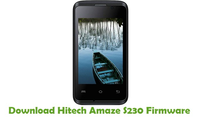 Download Hitech Amaze S230 Firmware