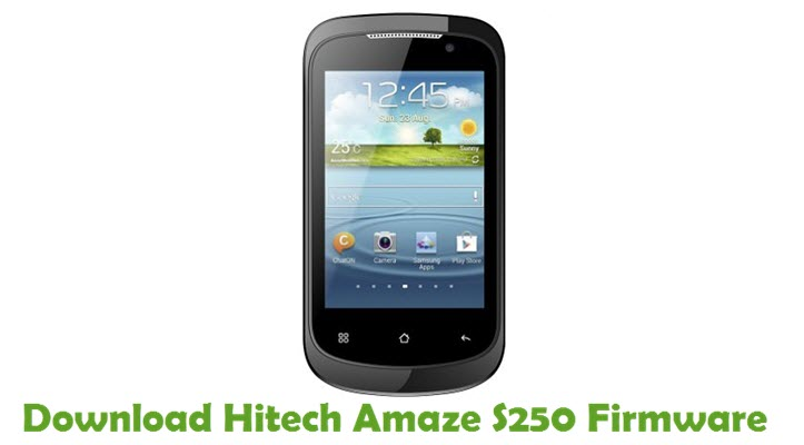 Download Hitech Amaze S250 Firmware
