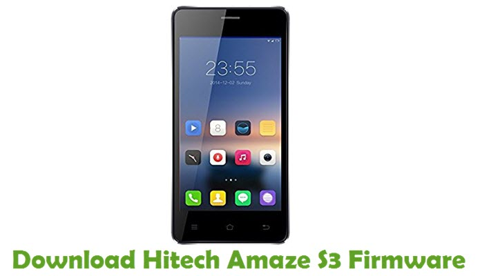 Download Hitech Amaze S3 Firmware