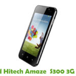 Hitech Amaze S300 3G Firmware