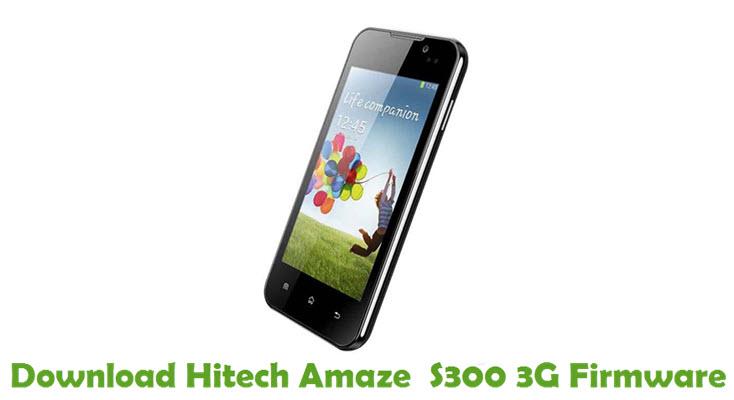 Download Hitech Amaze S300 3G Firmware