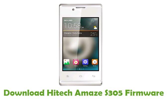 Download Hitech Amaze S305 Firmware