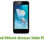Hitech Amaze S306 Firmware