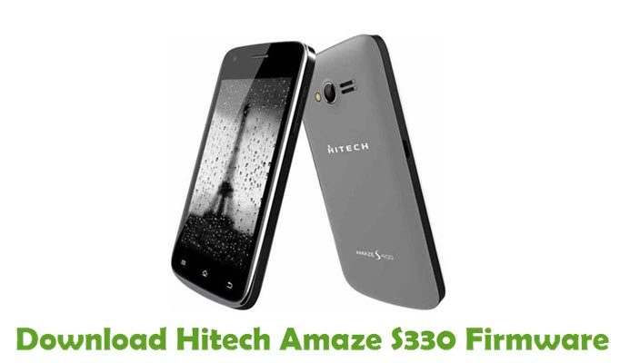 Download Hitech Amaze S330 Firmware
