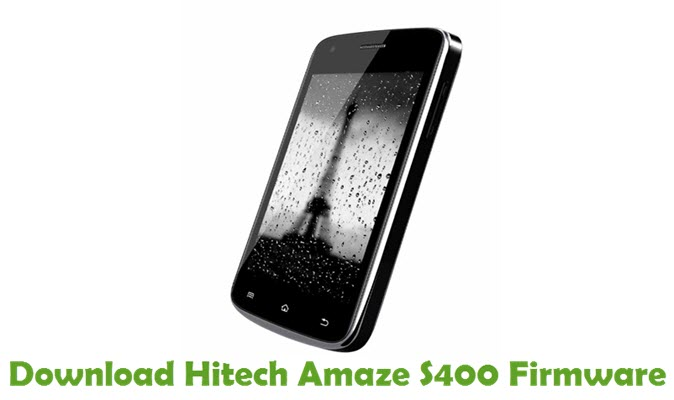 Download Hitech Amaze S400 Firmware