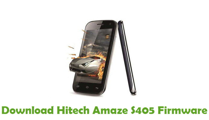 Download Hitech Amaze S405 Firmware