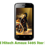 Hitech Amaze S405 Star Firmware