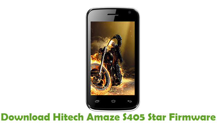 Download Hitech Amaze S405 Star Firmware