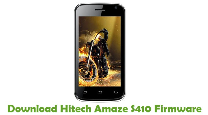 Download Hitech Amaze S410 Firmware