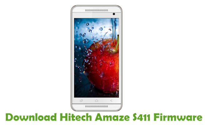 Download Hitech Amaze S411 Firmware