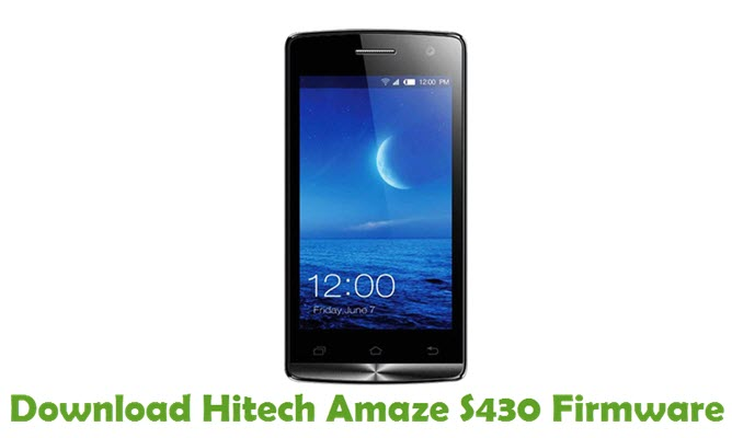 Download Hitech Amaze S430 Stock ROM
