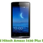 Hitech Amaze S430 Plus Firmware