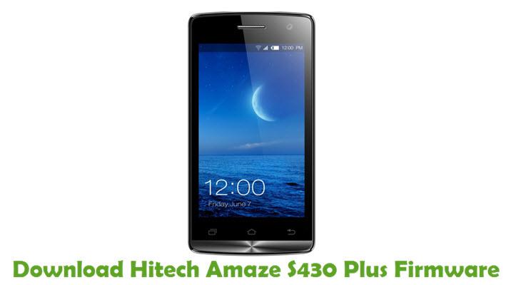 Download Hitech Amaze S430 Plus Firmware